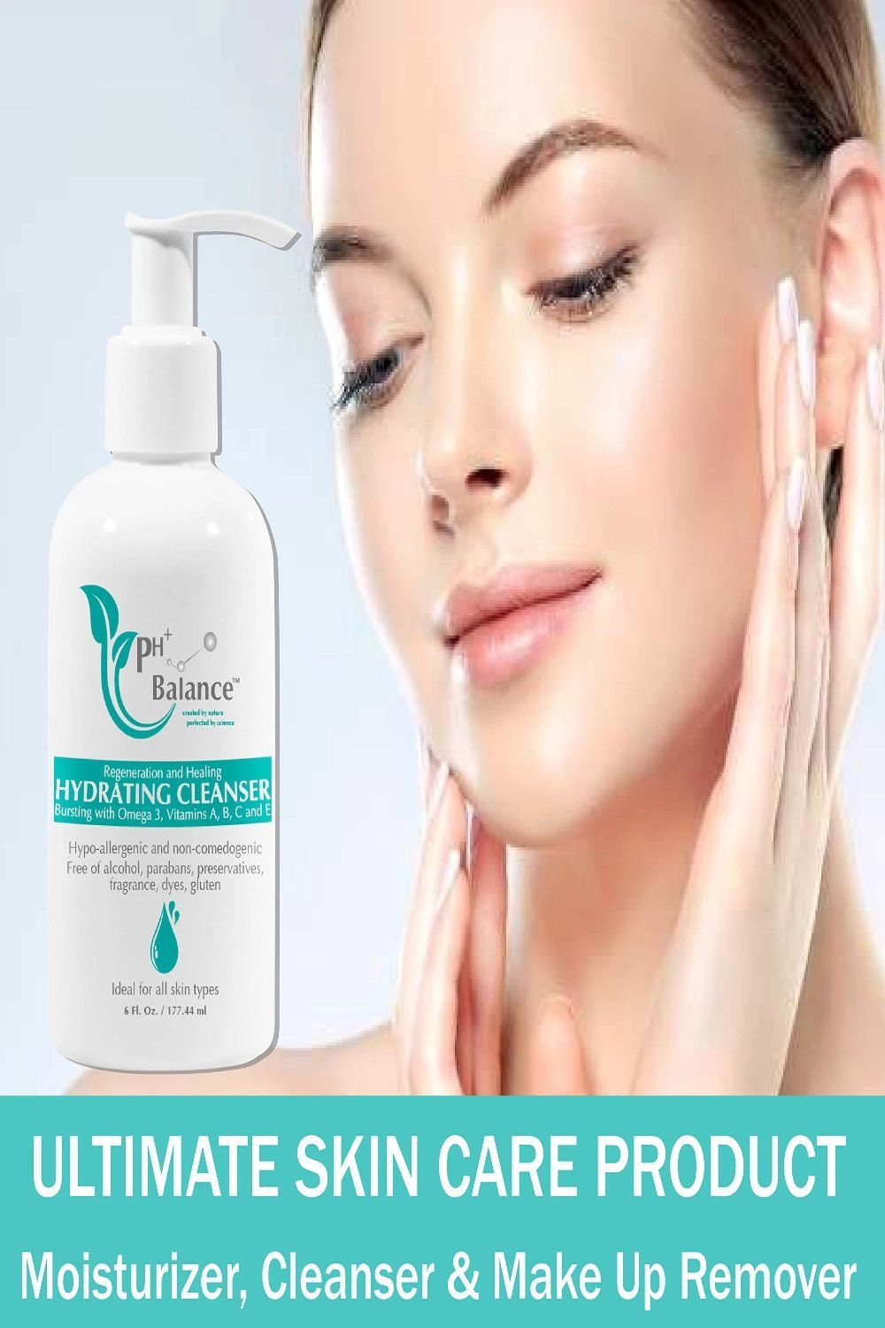PH BALANCE SKINCARE Hydrating Cleanser Daily Facial & Body