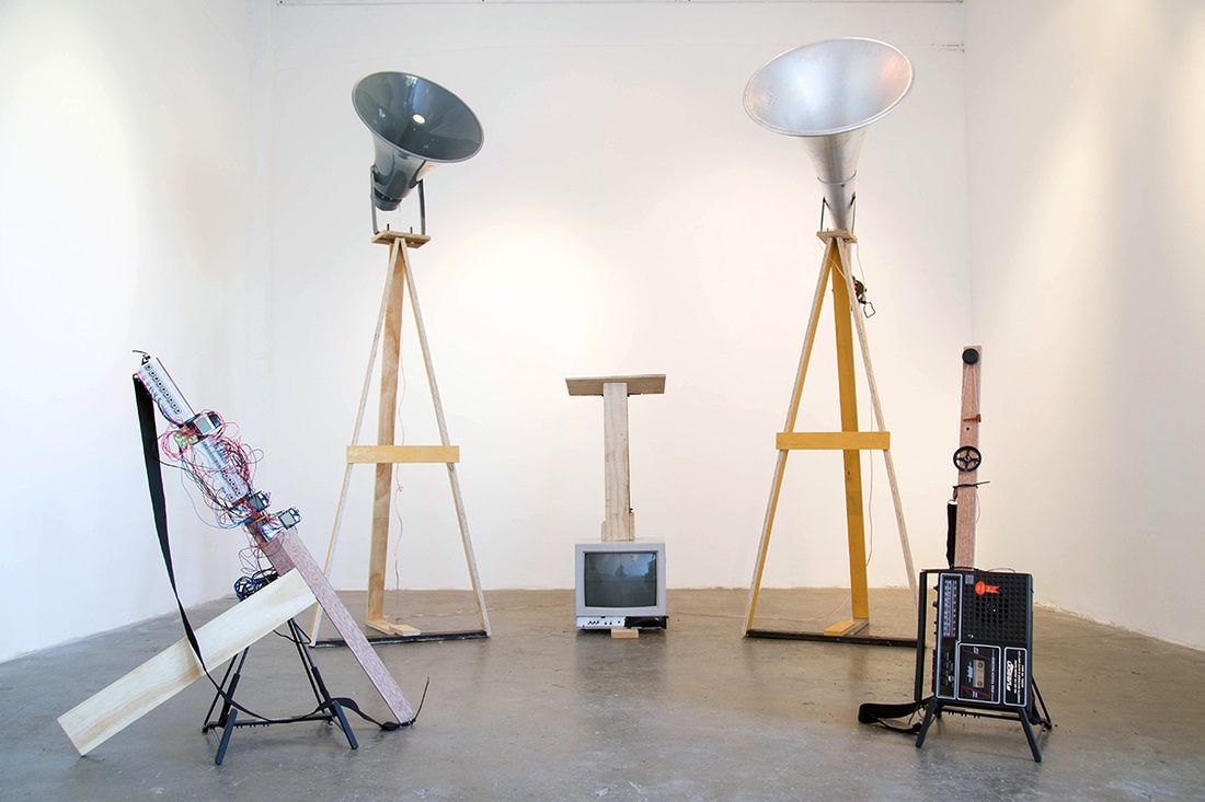 Yuri Suzuki Creates Hacked Instruments From Old Cell Phones And Tape Recorders