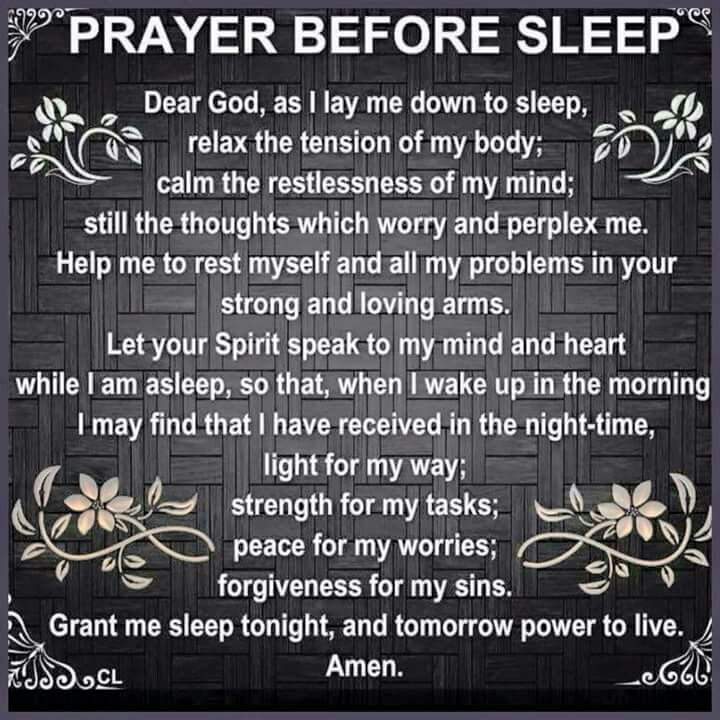 Nighttime Prayer Miracle Morning Affirmations Stuff Night
