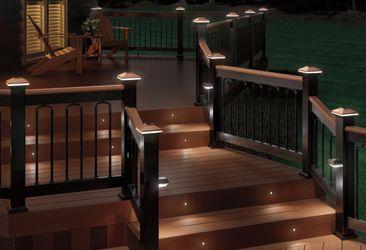 Deckorators Decking Lighting Options Backyard Solar Deck
