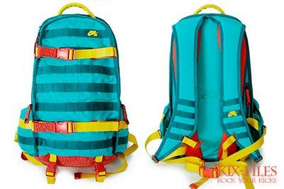 00a5375254a54b Nike SB backpack features in turquoise