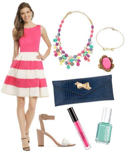 Summer Wedding Guest Outfit by Expert Shopper finalist Sandy