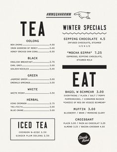 menu design / | Graphic Design | Pinterest | Menu design, Posts ...