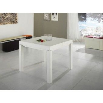 Tavolo Minimal LUX Quadrato 80 90 100 allungabile 3,40 metri http ...