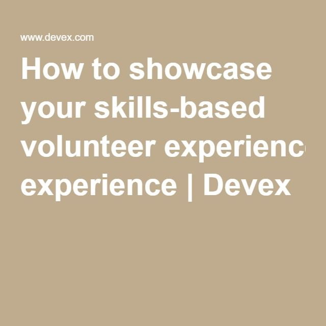 how to showcase your skills