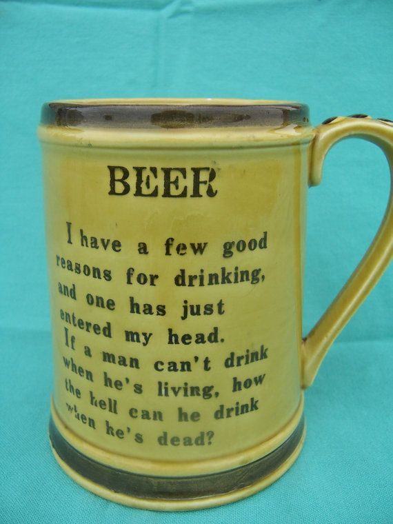 Fathers Day Beer Glass Poems
