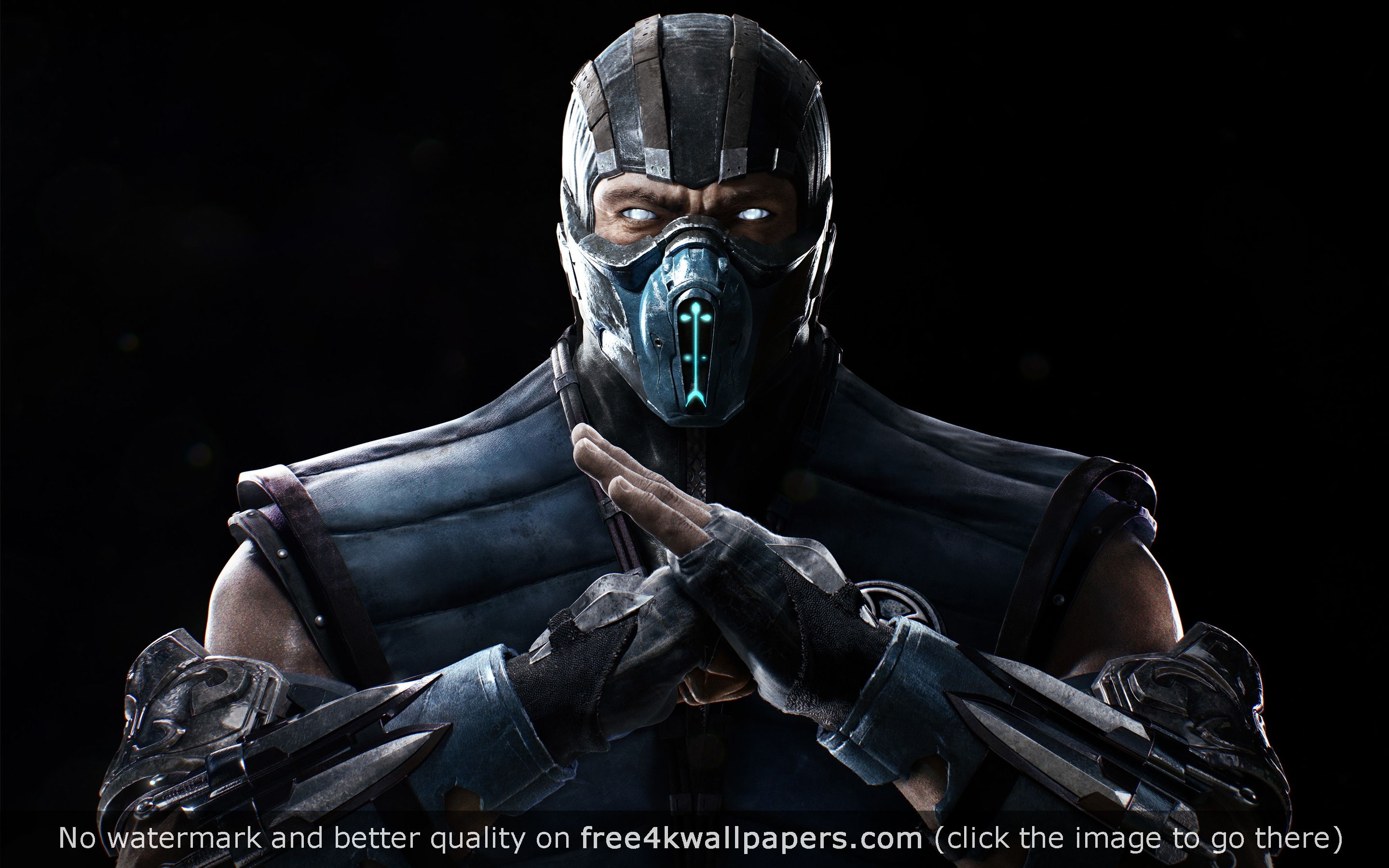 Mortal Kombat X Sub Zero 4k 5k Hd Wallpaper Desktop Wallpapers