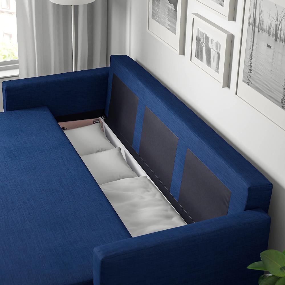 Friheten Sleeper Sofa Skiftebo Blue Sleeper Sofa Guest Room Sleeper Sofa Sofa Bed