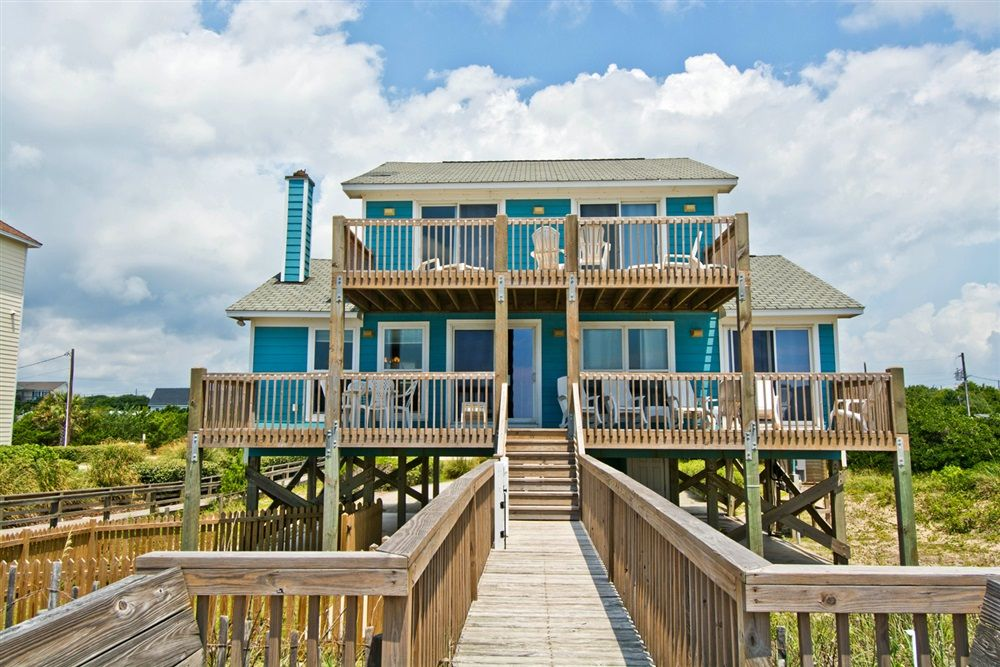 irish mist a 4 bedroom oceanfront rental house in emerald isle part rh pinterest com