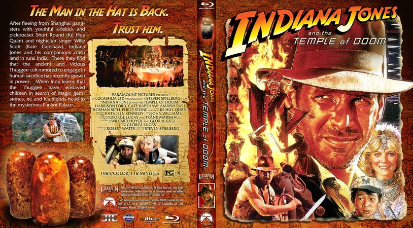 Indiana Jones Custom Covers Disc Labels Indiana Jones And The Temple Of Doom Efx Coverart Gallery Indiana Jones Adventure Movies Doom