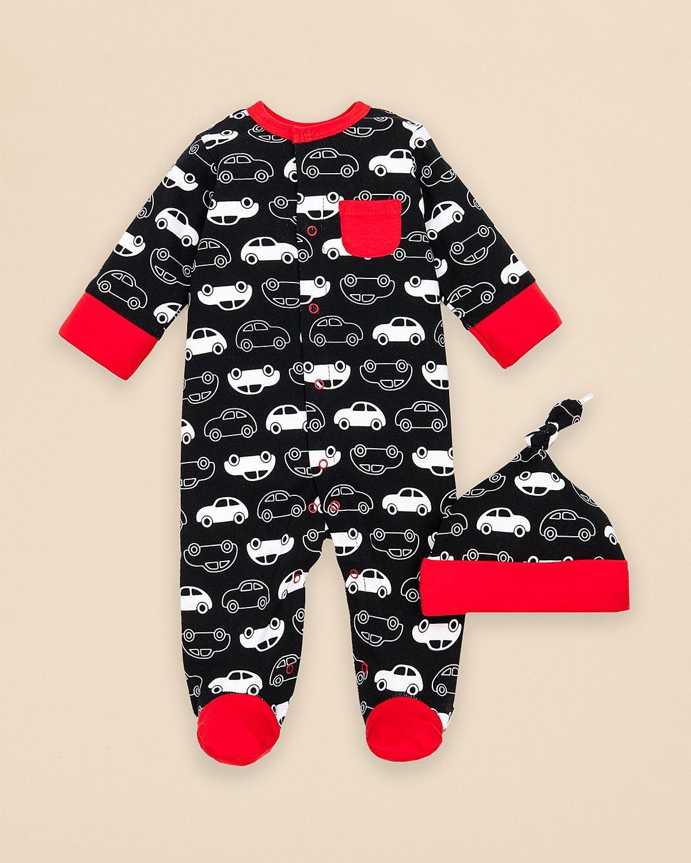 df82042daffb Offspring Infant Boys  Car Print Hat   Footie Set - Sizes Newborn-9 Months