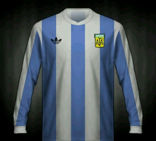 02fd918fb69 Argentina home shirt for the 1978 World Cup Finals.