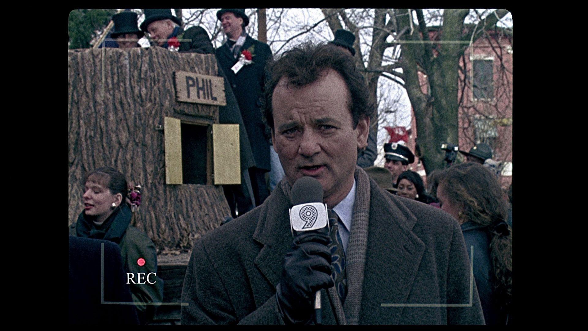 Groundhog Day Movie Quotes Espectros Marmotas Ycarcajadas  Phil Connors Music Tv And Movie