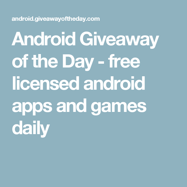 giveaway of the day games