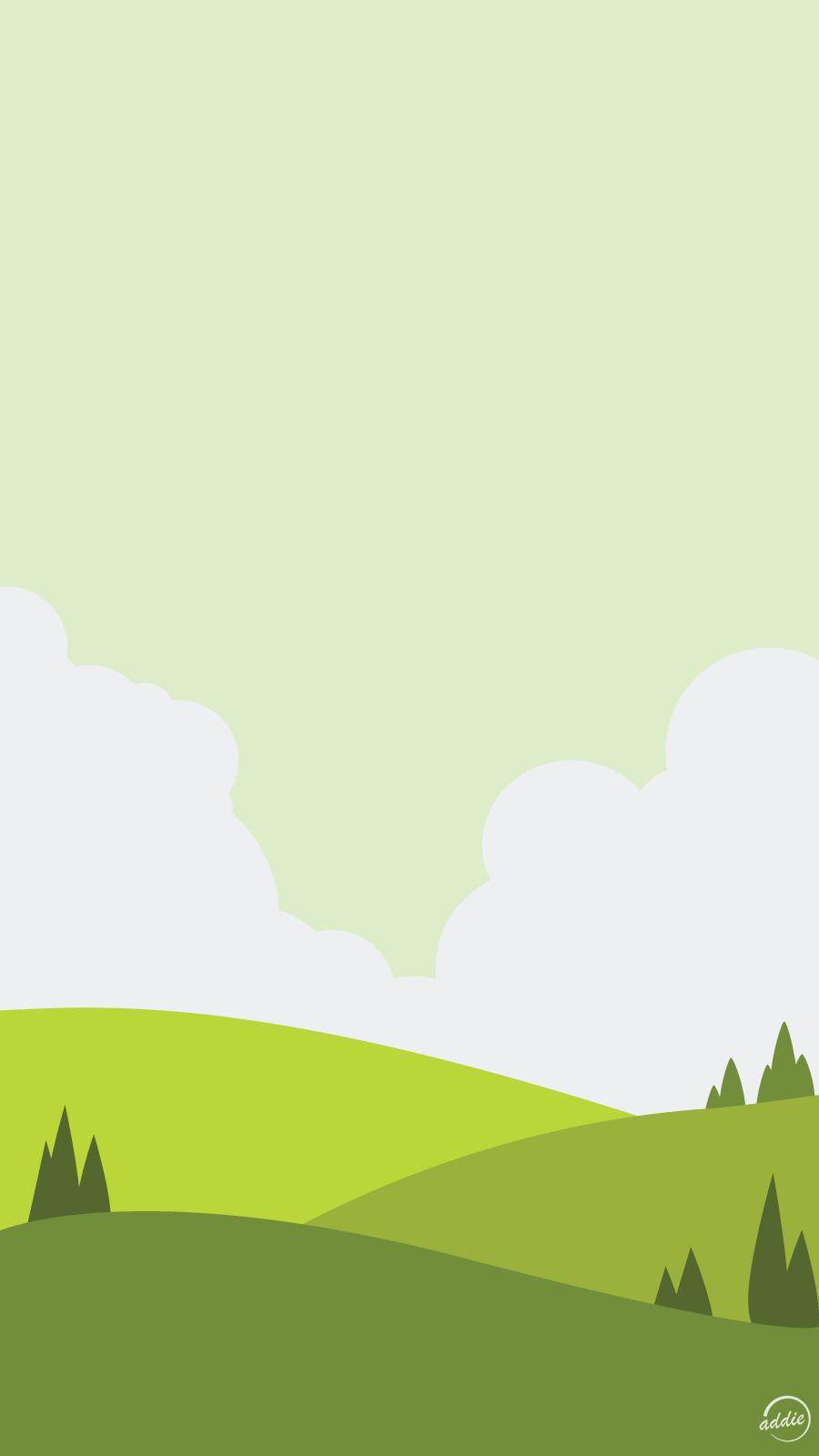 Minimal Country Vector Phone Wallpaper