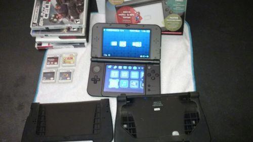 Nintendo New 3DS XL Launch Edition Black Handheld System https://t.co/mcgz7m1auz https://t.co/LaBZE4UJrV