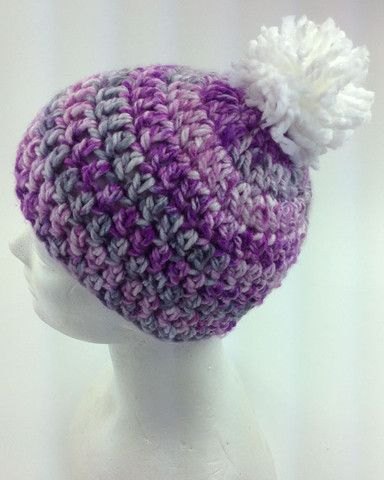 Free Crochet Pattern Serenity Hat With Pompom Crochet For Men And