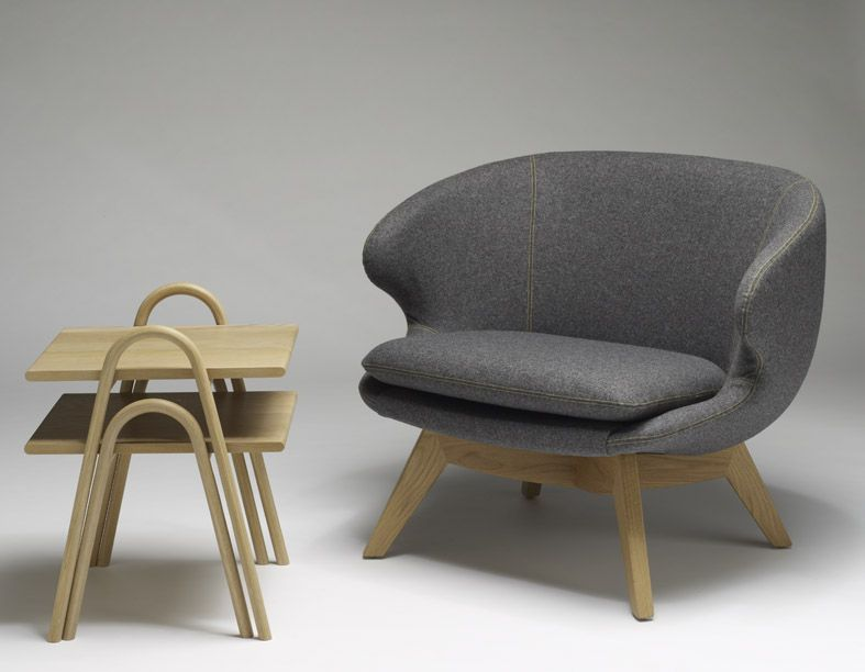 Furnishing International » August Chair from Temperature Design