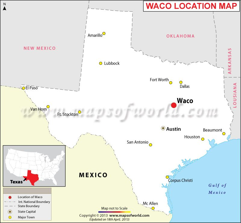 Where is Waco Maps Pinterest Texas usa Texas and Location map