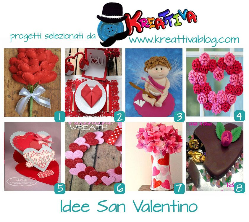 Kreattiva: 19 Idee per #SanValentino #craft #diy #tutorial #valentinosday