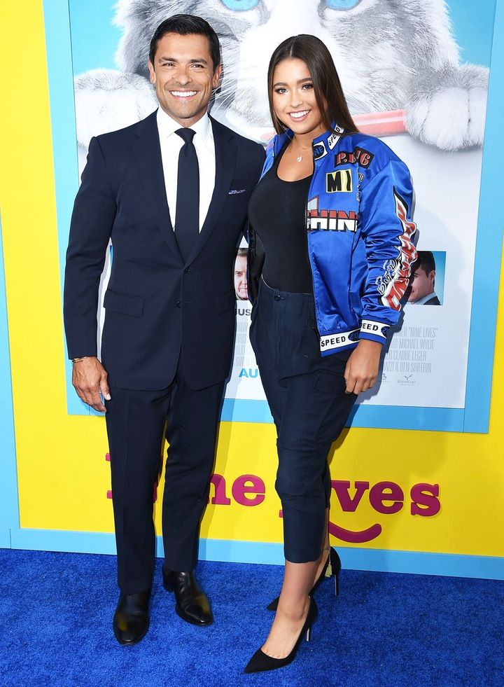 Mark Consuelos Hits the Red Carpet With Daughter Lola Consuelos — See How  Grown Up She