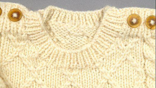 KnitNet knitting magazine introduces Easy Baby Aran, a free knitting ...