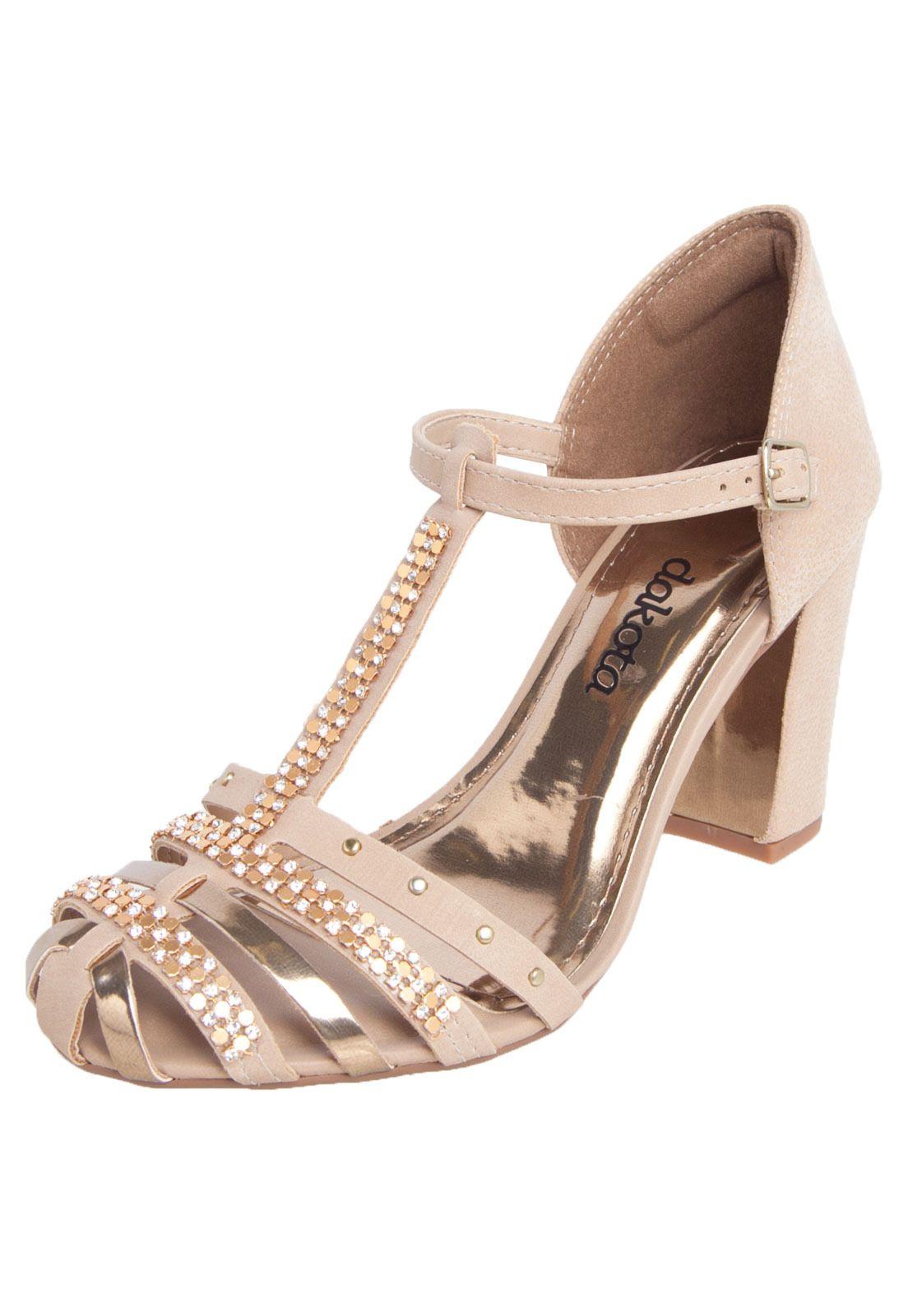 e48dc32f81 Sandália Dakota Bege - Compre Agora