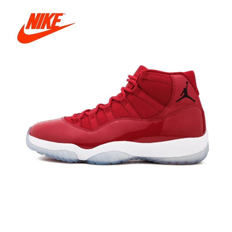 3723e128677e Nike Air Jordan 11 Retro Win Like 96 Basketball Shoes - 378037 in ...