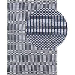 Photo of benuta Washable Cotton Rug Cooper Blue 190×280 cm – Modern rug for living room benuta