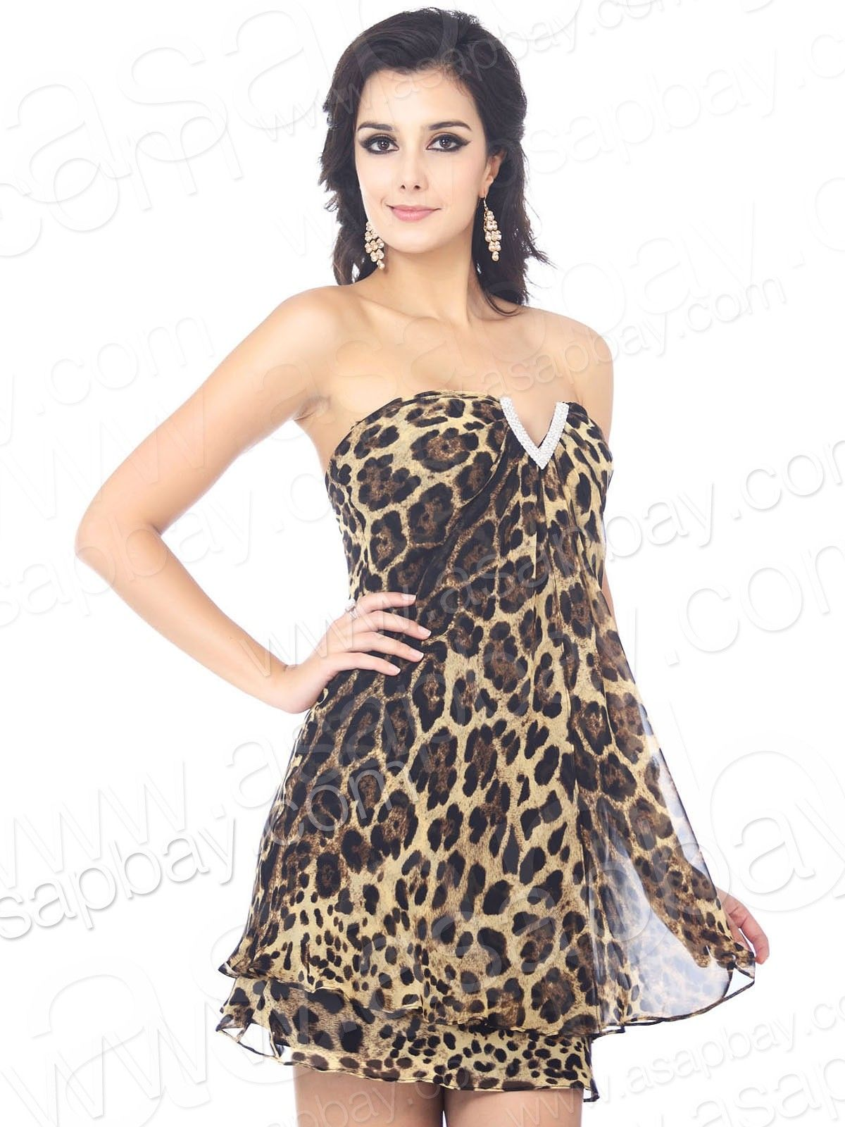 Animal Print Cocktail Dresses - Ocodea.com
