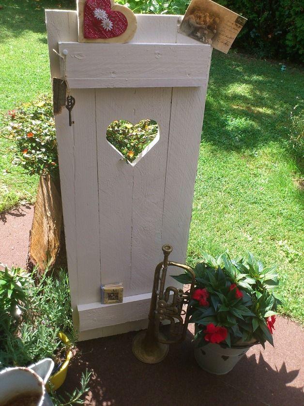 Garten Shabby shabby chic wunderschöner fensterladen deko ho