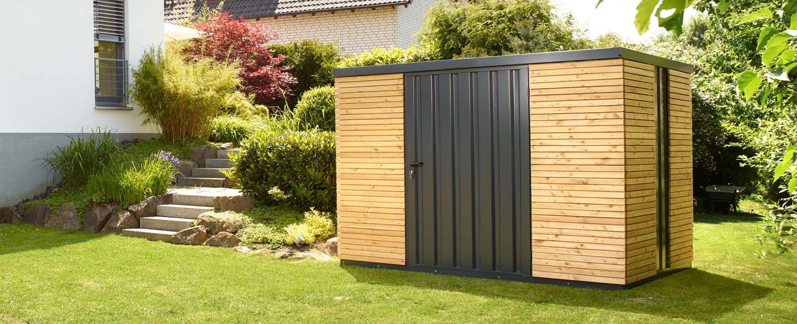 Gartenhaus Gardenboxx Das komplette DesignGartenhaus