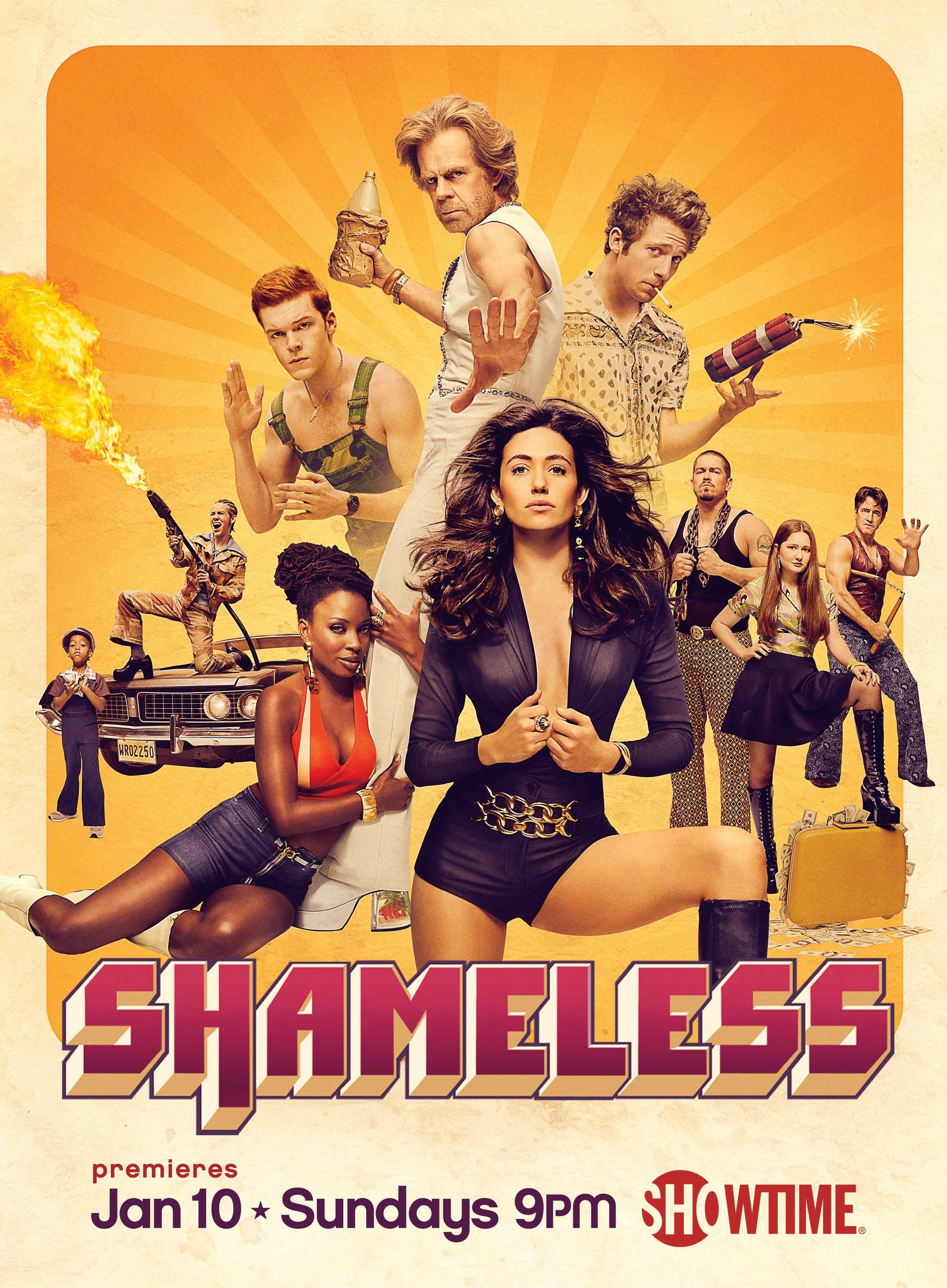 Shameless Season 6 promo poster Shameless season