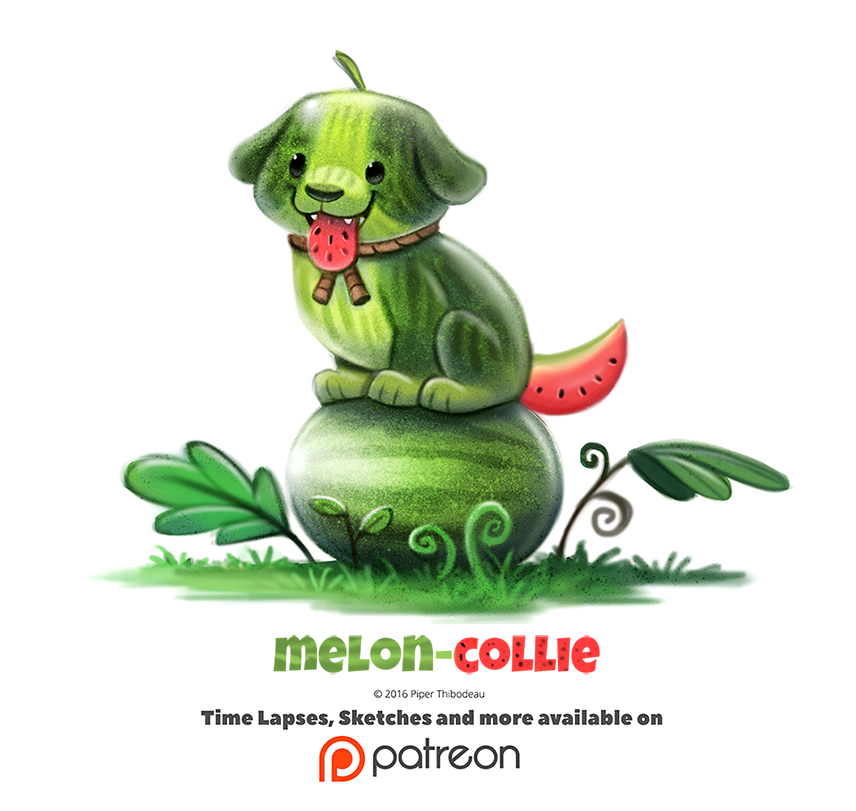 Day+1375.+Melon-Collie+by+Cryptid-Creations.deviantart.com+on+@DeviantArt