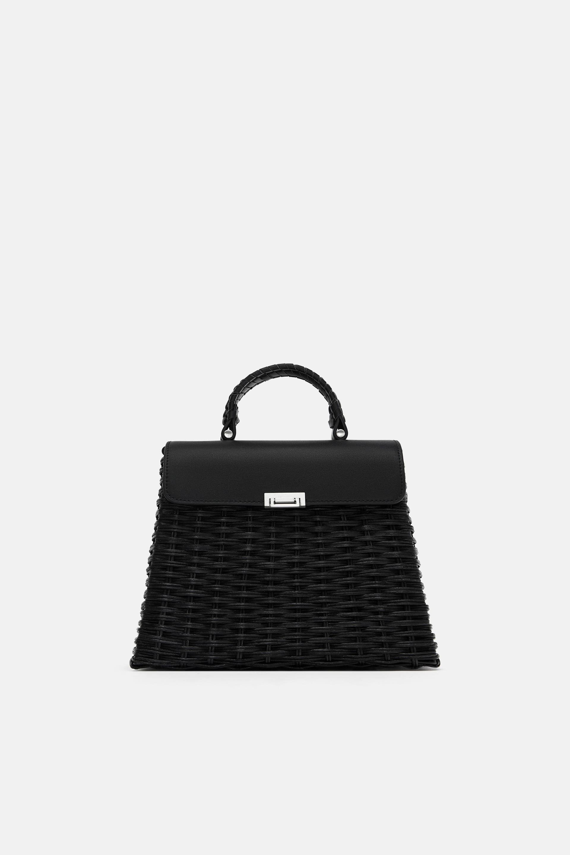 Pletenaya Sumka Bags Zara Top Handle Bag