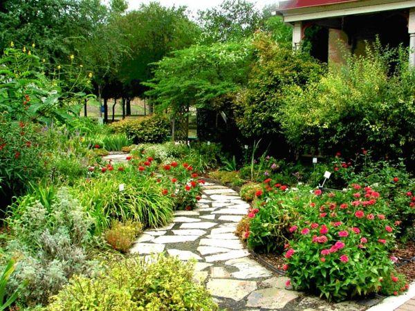 gartengestaltung beispiele steinplatten pfad Gardening - gartengestaltung beispiele und bilder