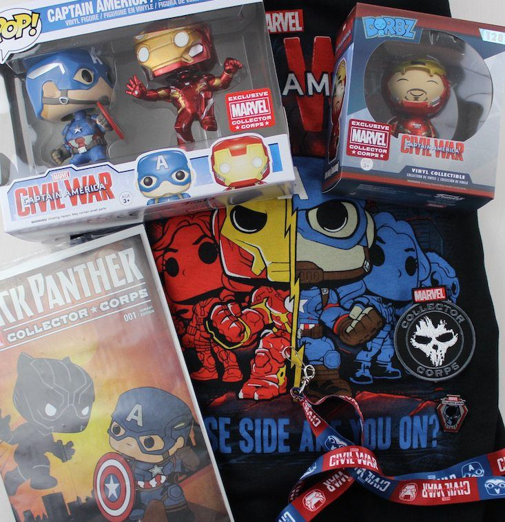 Marvel Collector Corps Subscription Box Review April