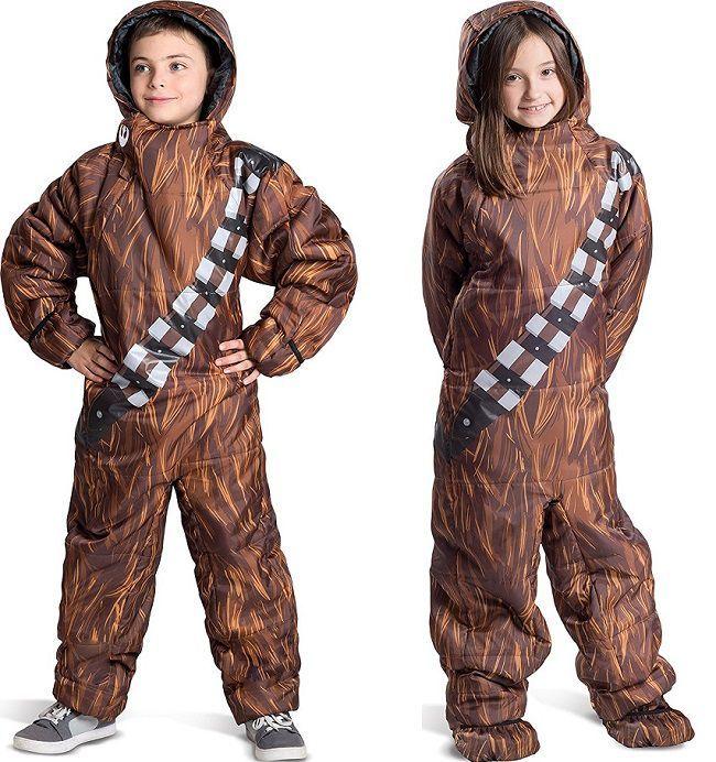 Star Wars : les sacs de couchage Dark Vador, Chewbacca
