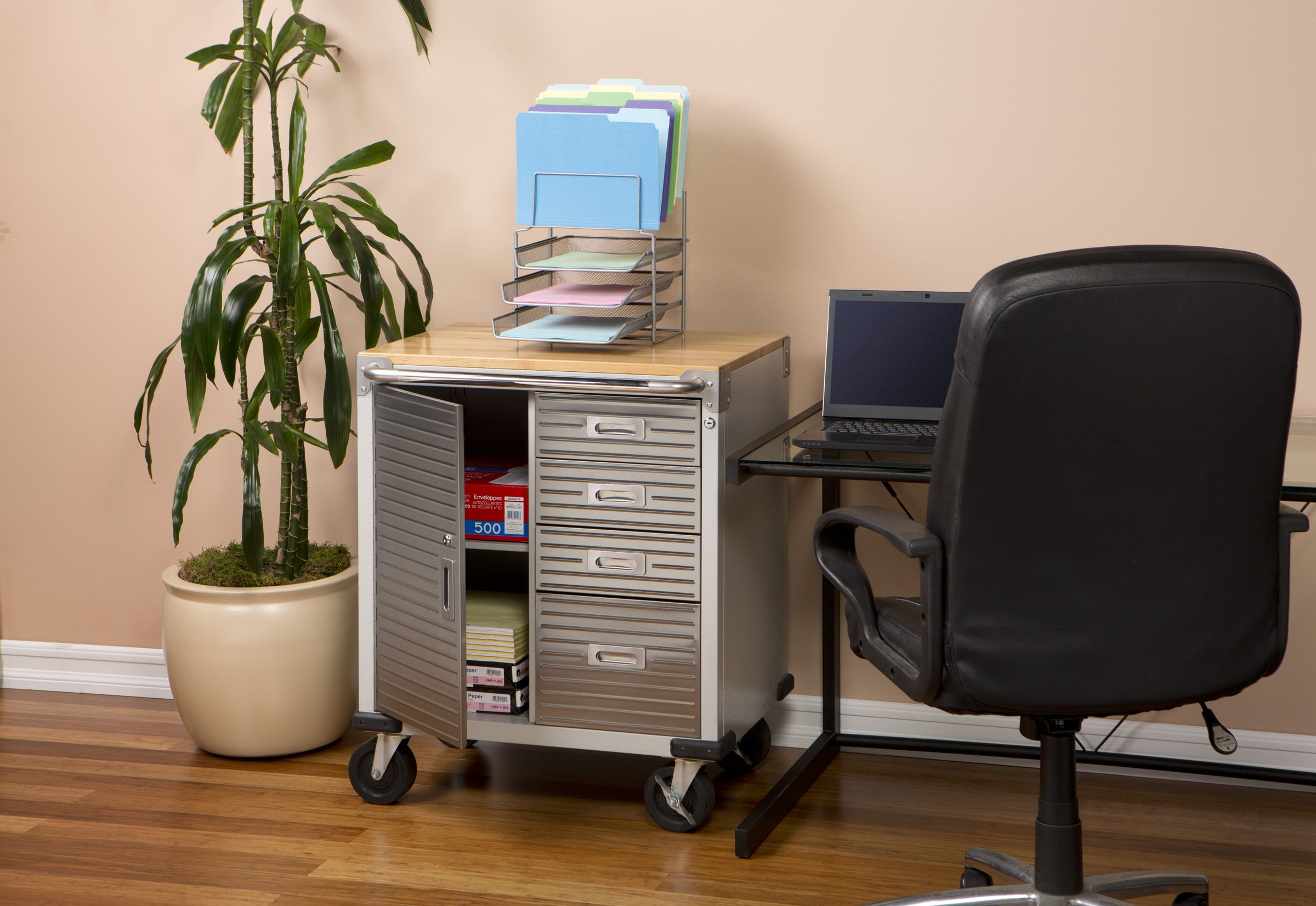 Office organization with the UltraHD Rolling Cabinet | UltraHD ...