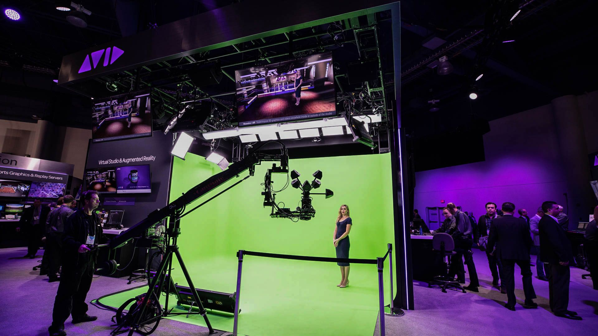 Avid Maestro | Virtual Set features an all-in-one approach  A single