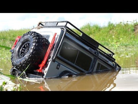 traxxas trx4 driver roof deep swamp rescue rc adventures youtube traxxas land rover. Black Bedroom Furniture Sets. Home Design Ideas