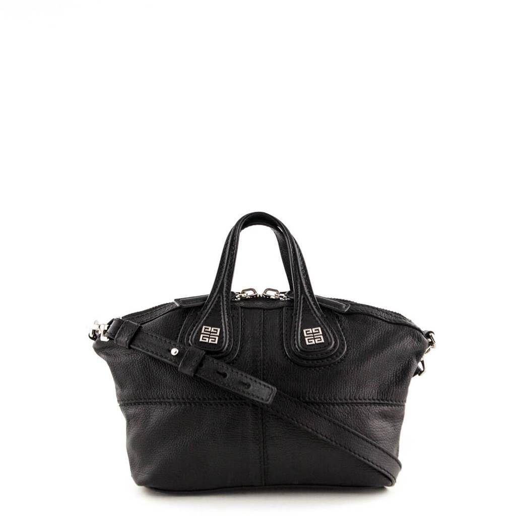 f237ce0efa Givenchy Black Lambskin Mini Nightingale - LOVE that BAG - Preowned  Authentic Designer Handbags #Designerhandbags