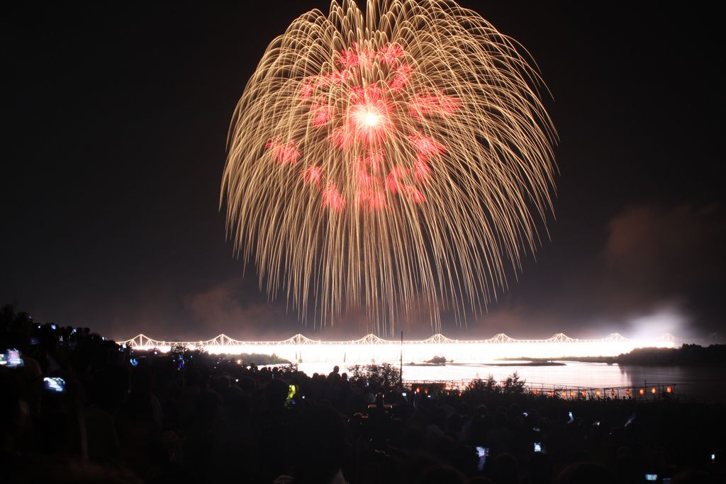 Fireworks in Nagaoka