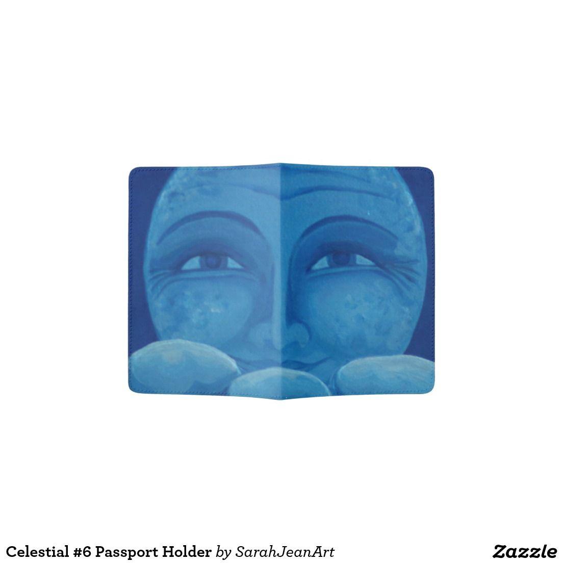 Celestial #6 Passport Holder
