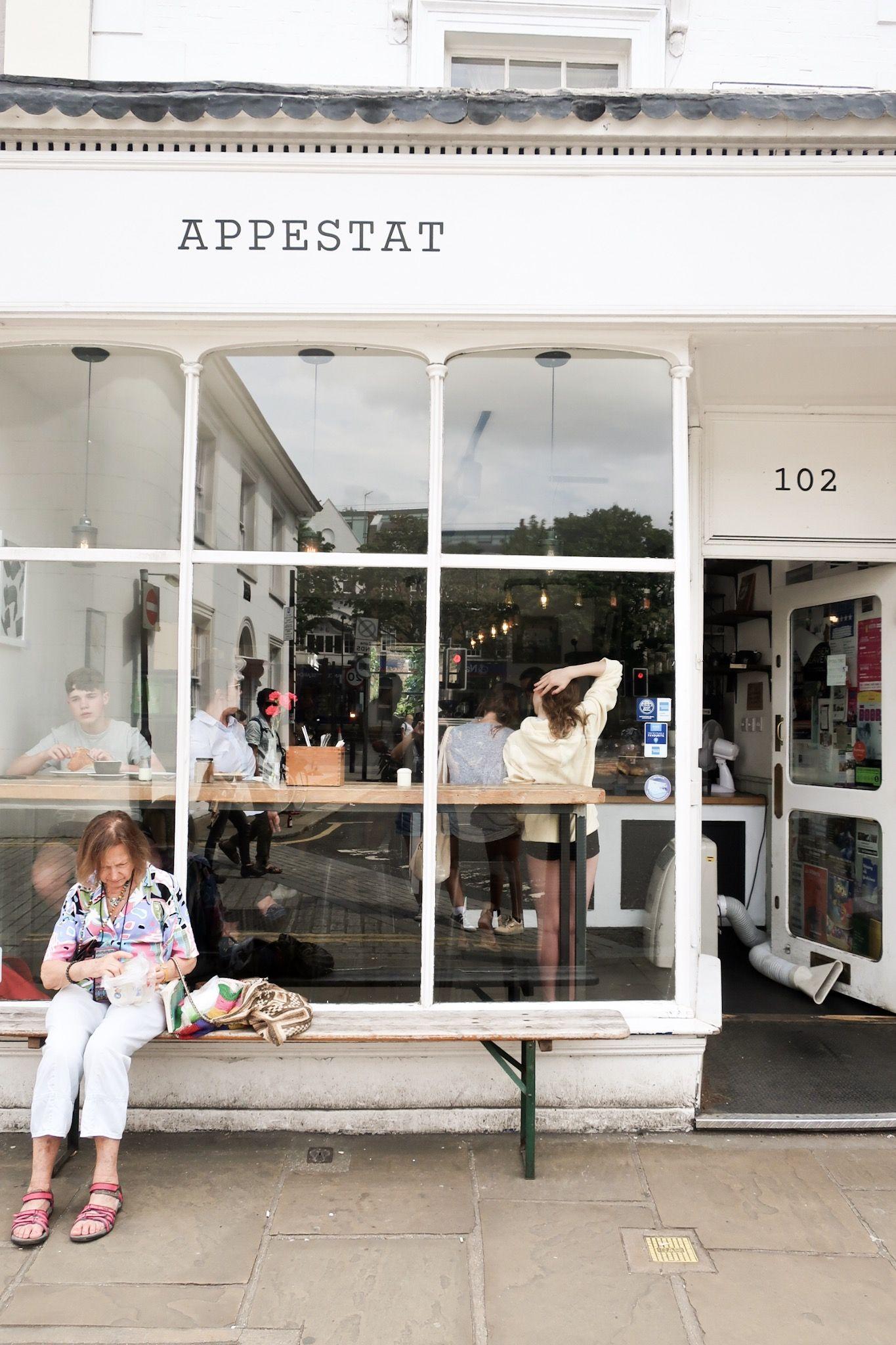 Appestat Cafe London Cafe, Full breakfast, Space place