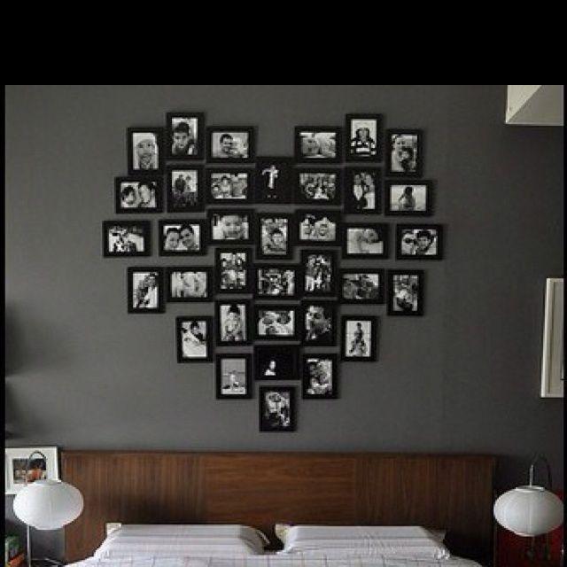 Home decor picture arrangements on walls