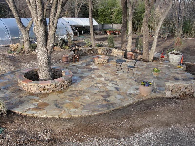 Natural Modern Build Stone Patio Design Ideas ~ http ...