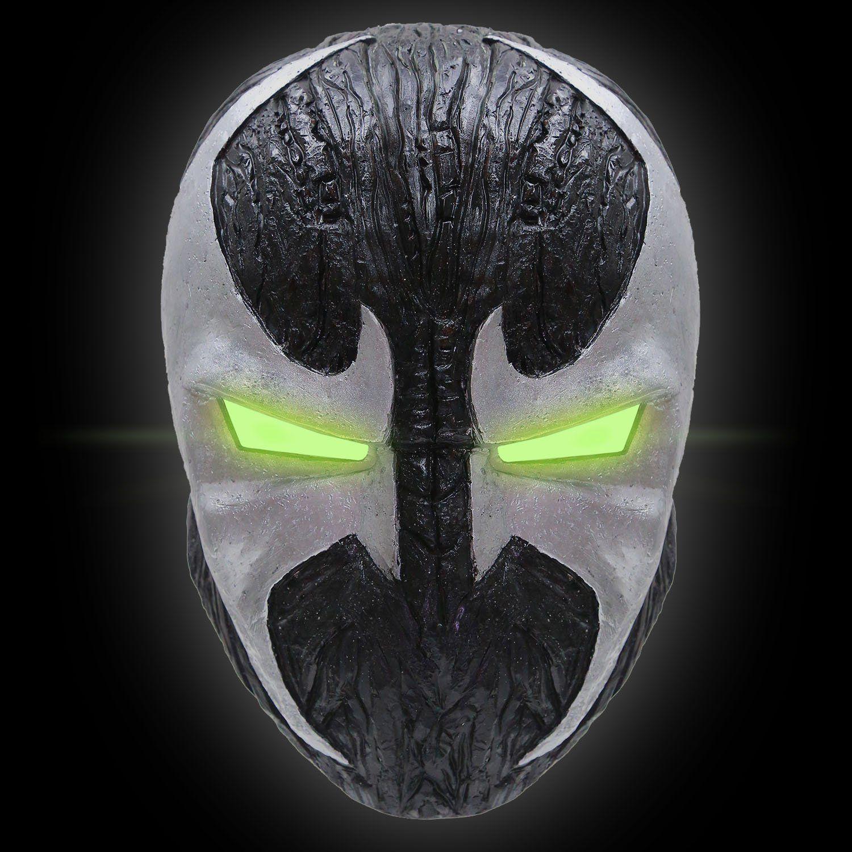 Amazon.com: XCOSER® Adult Spawn Mask Helmet Prop for Halloween ...
