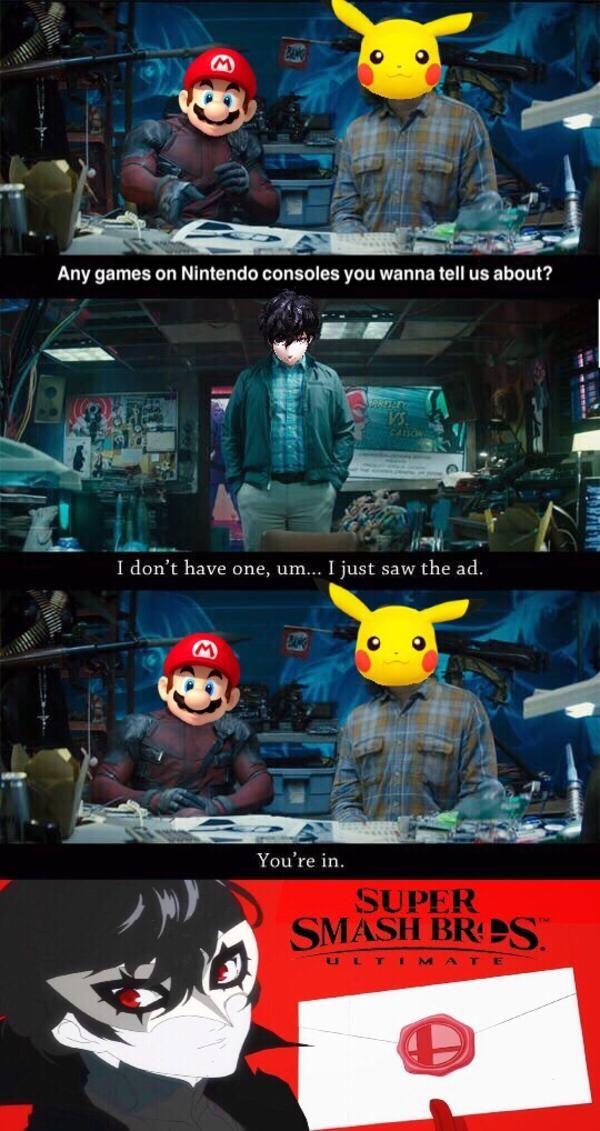 Joker Just Saw The Ad Super Smash Bros Memes Super Smash Bros