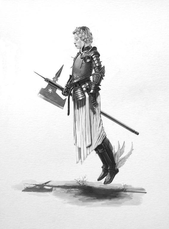 OC Evelyn Marthain, human paladin. : armoredwomen | Character art, Anima and animus, Character ...